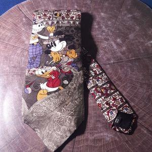 Kids - Disney Mickey&Co tie 100% Silk vintage| 10…